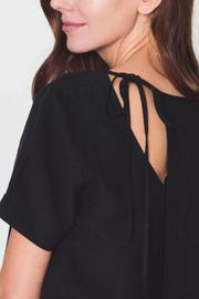Movint Tie Back Detail Top - Back cropped