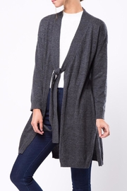 Movint Tie Cardigan - Back cropped