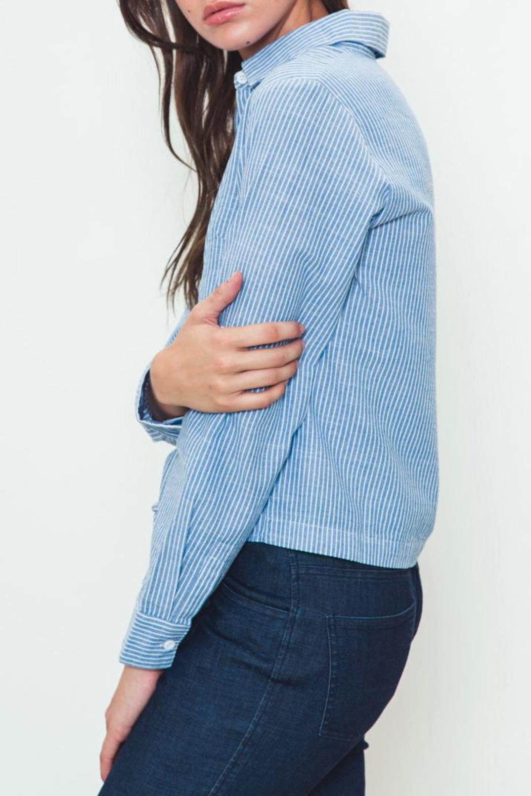 Movint Tie-Front Buttondown - Front Full Image