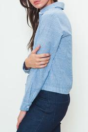 Movint Tie-Front Buttondown - Front full body