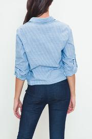 Movint Tie-Front Buttondown - Side cropped