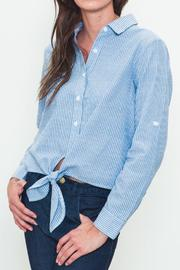 Movint Tie-Front Buttondown - Front cropped