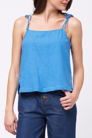 Movint Tie Shuolder Strap Cami - Front cropped