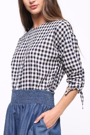 Movint Tie-Sleeve Detailed Top - Side cropped