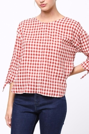 Movint Tie-Sleeve Detailed Top - Front cropped