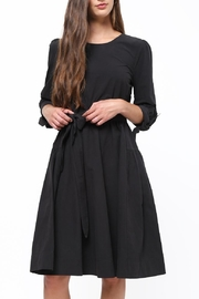Movint Tie Sleeve Dress - Front cropped