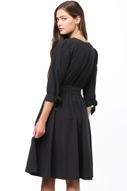 Movint Tie Sleeve Dress - Front full body