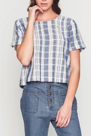 Movint Back Button Detail Top - Front cropped