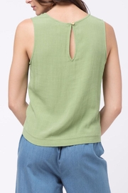 Movint Top With Overlapped Tie Detail - Back cropped