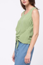 Movint Top With Overlapped Tie Detail - Side cropped