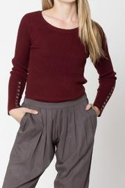 Movint Travelling Rib Knit-Top - Product Mini Image