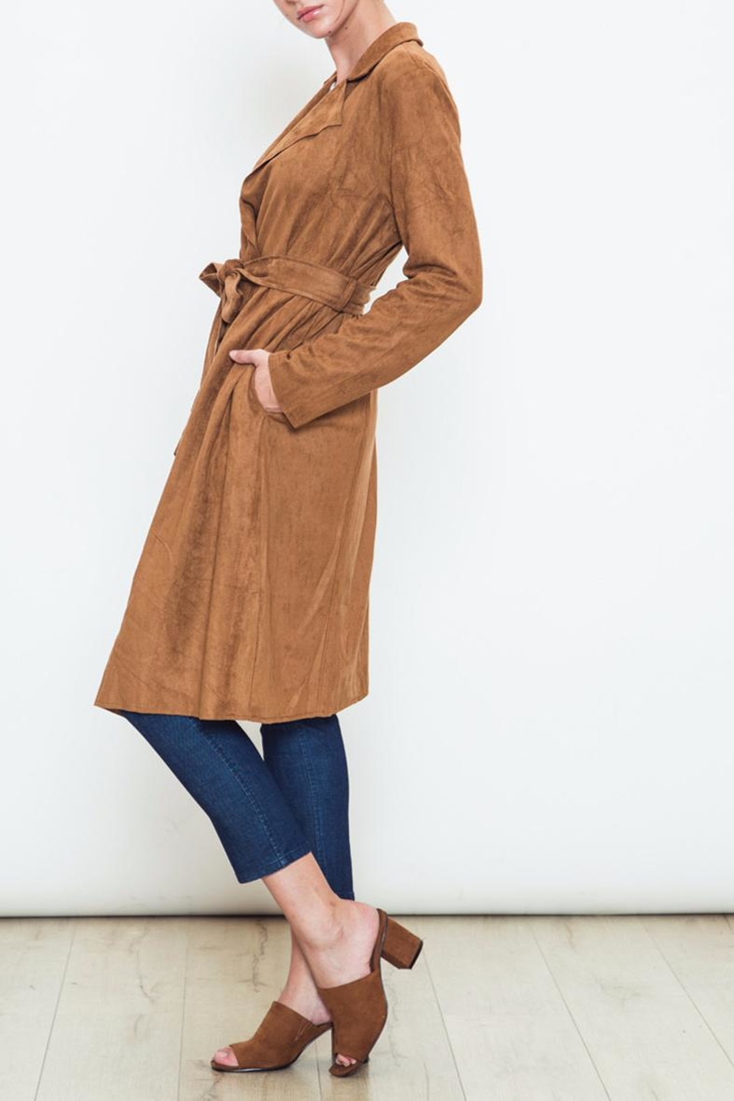 Movint Kelsey Trench Coat - Front Full Image
