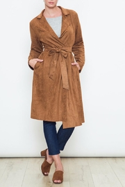 Movint Kelsey Trench Coat - Front cropped