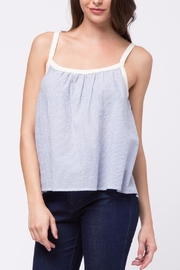 Movint Alex Shirring Top - Front cropped