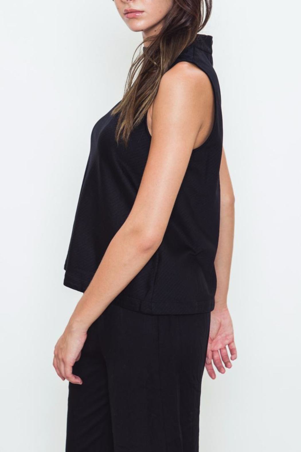 Movint Turtle Neck Top - Front Full Image