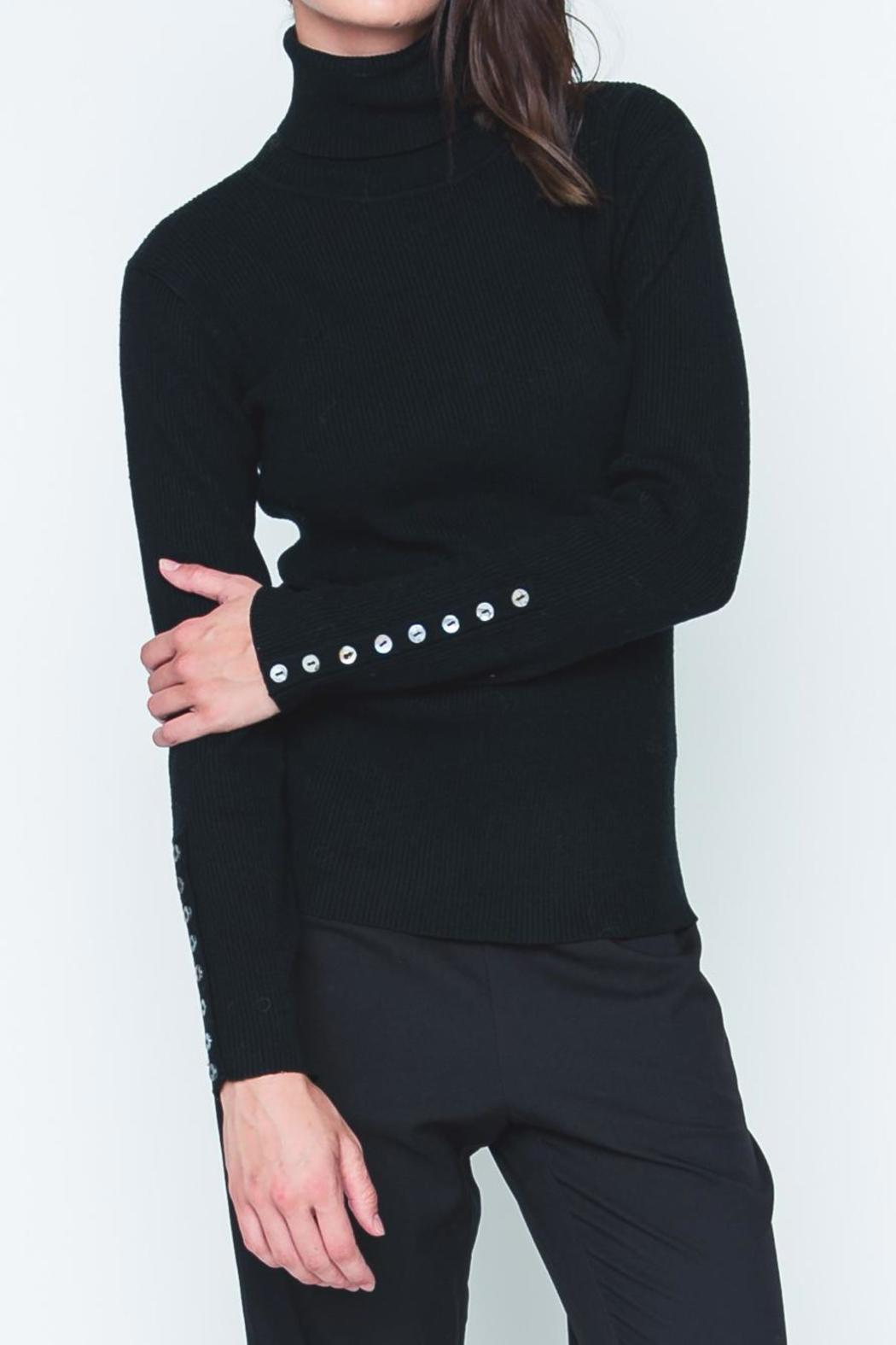 90906aa467da Movint Button Sleeve Turtleneck from California by Mo Vint — Shoptiques