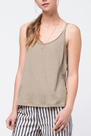 Movint Twill Detailed Cami - Front full body