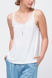 Movint Twill Detailed Cami - Front cropped