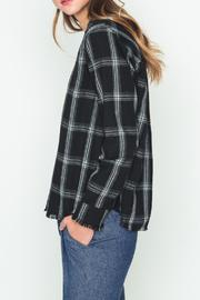 Movint Check Pattern Blouse - Side cropped
