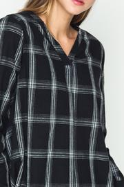 Movint Check Pattern Blouse - Other