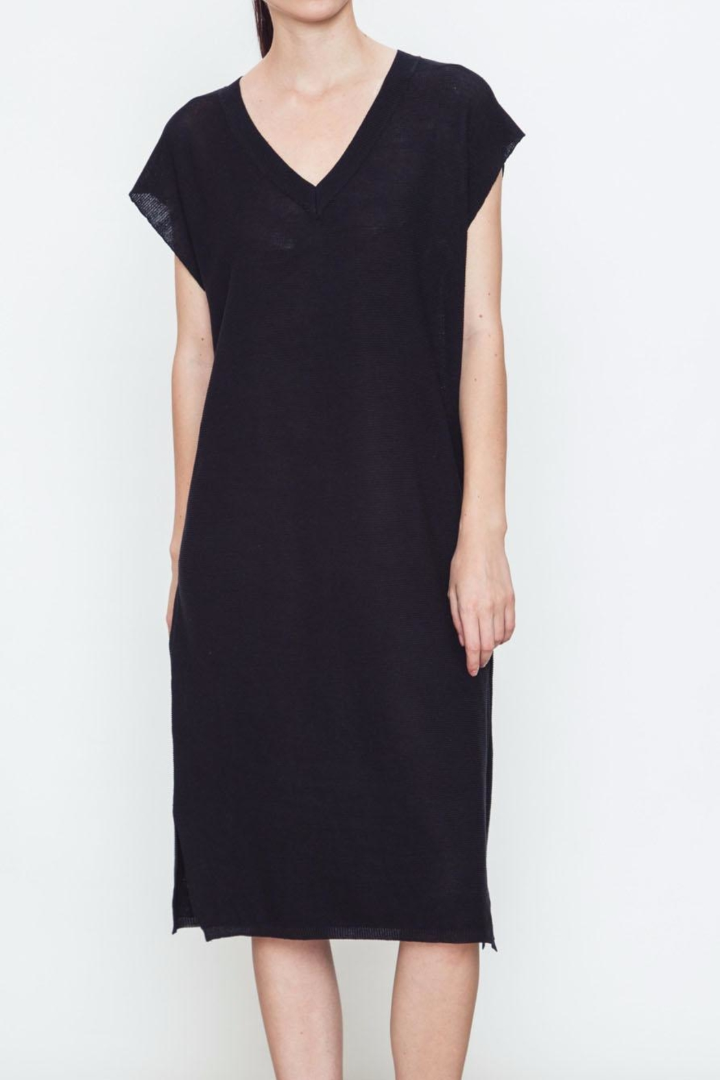 Movint V Neck Sweater Dress - Main Image
