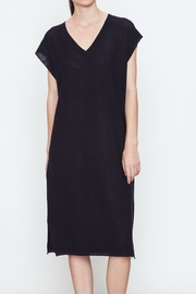 Movint V Neck Sweater Dress - Front cropped