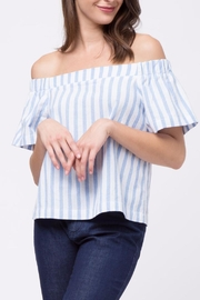 Movint Verical Off The Shoulder Top - Product Mini Image