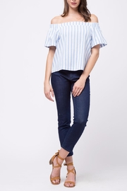 Movint Verical Off The Shoulder Top - Front full body
