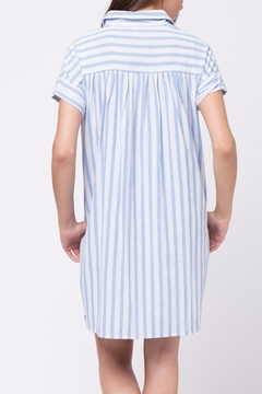 Movint Vertical Striped Shirt Dress - Alternate List Image