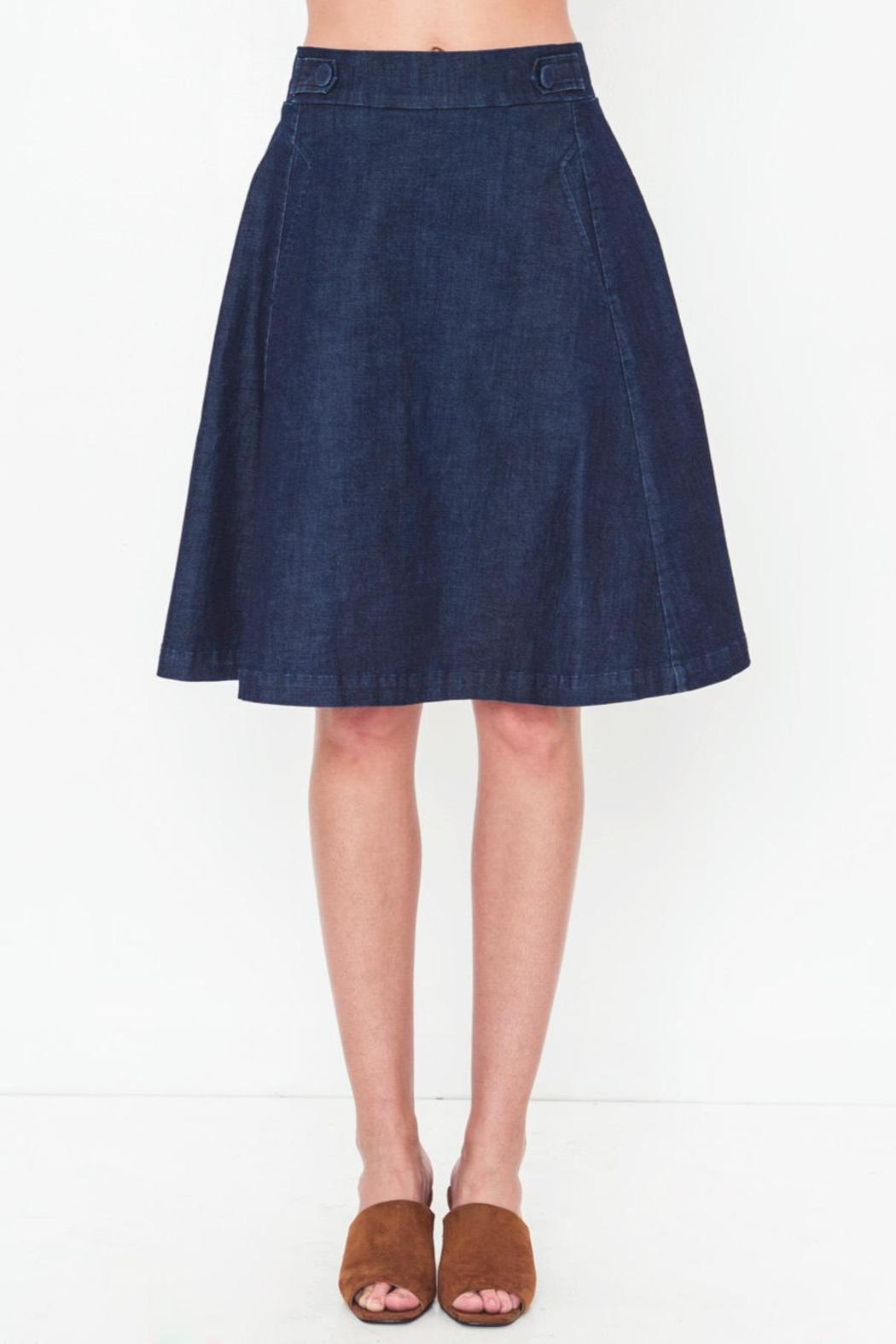 Movint Midi Length A Line Skirt from SoHo by Mo:Vint ...