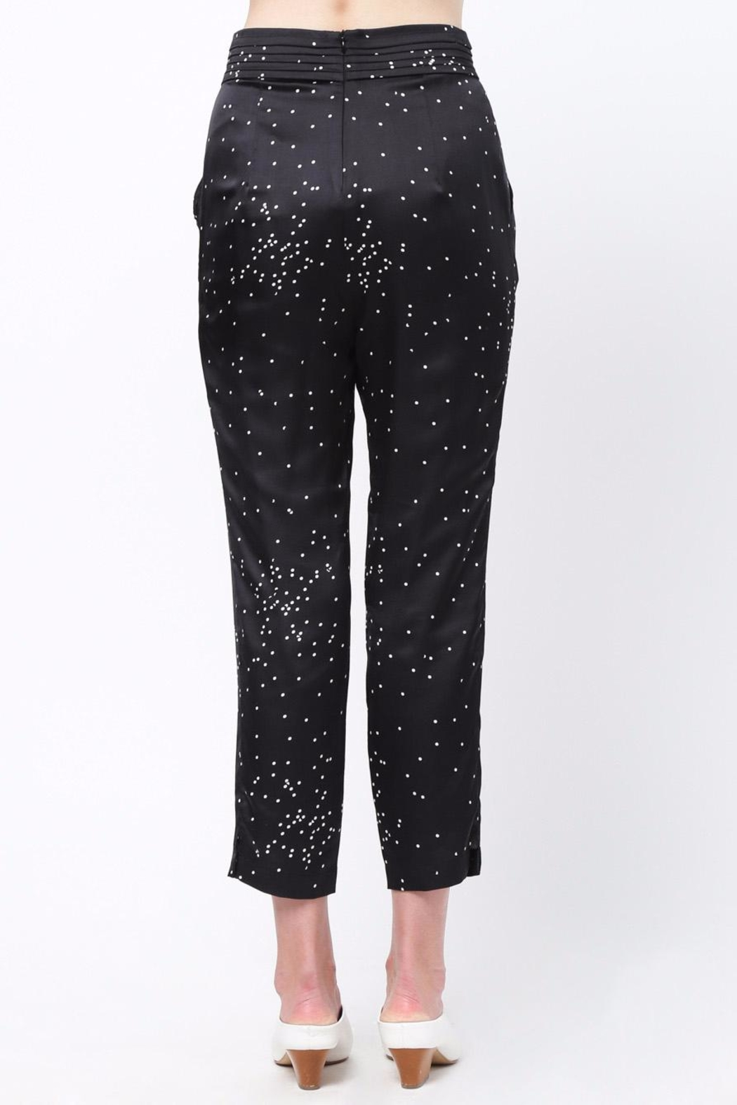 Movint Pin Tuck Trousers - Front Full Image