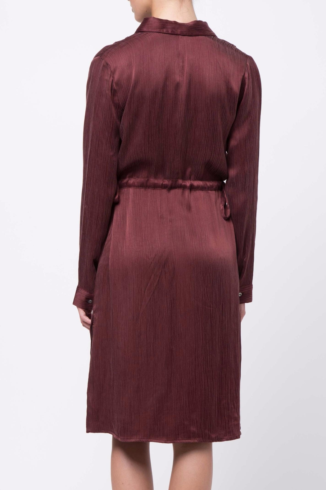 Movint Long Sleeve Dress - Side Cropped Image