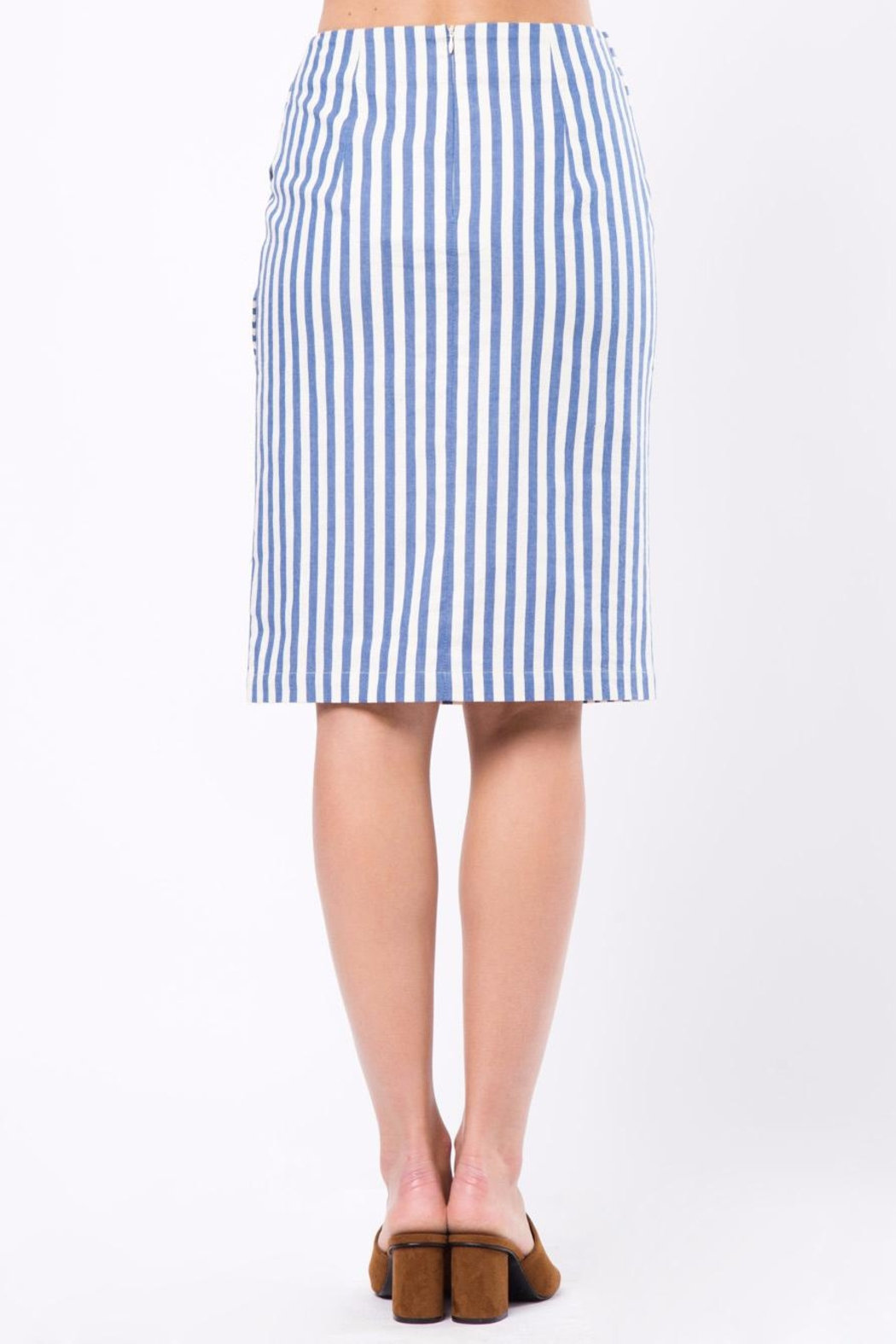 Movint Knot Midi Skirt - Front Full Image