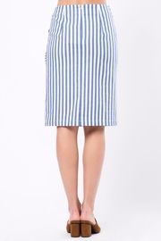 Movint Knot Midi Skirt - Front full body