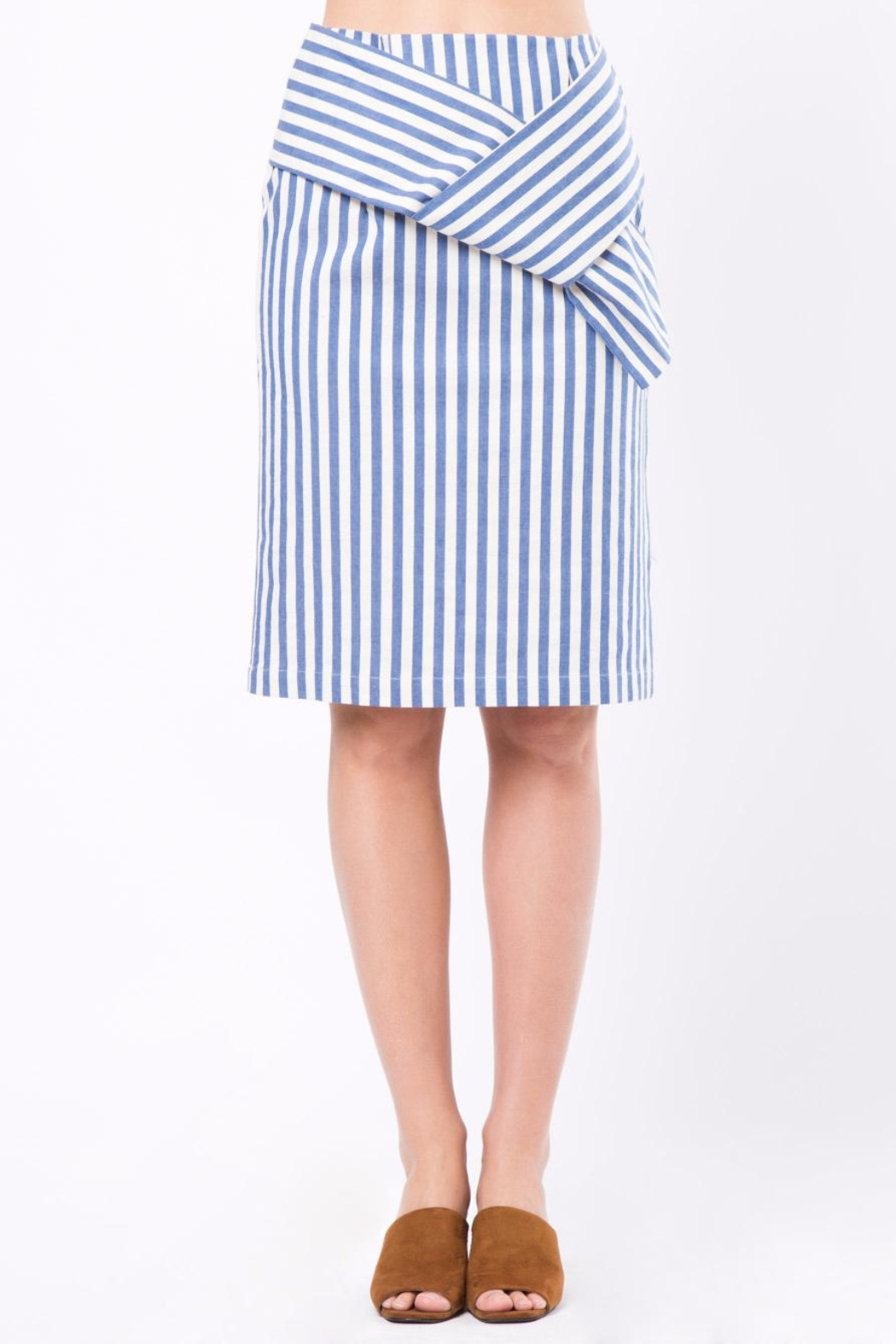 Movint Knot Midi Skirt - Main Image