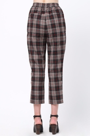 Movint Waist Pintuck Trousers - Front full body