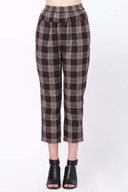 Movint Waist Pintuck Trousers - Front cropped