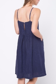 Movint Waist Shirring Detailed Dress - Front full body