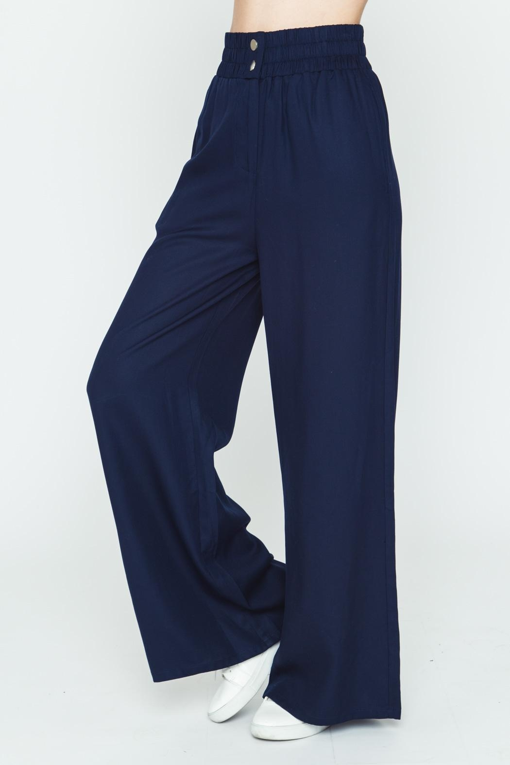 Movint Wide Leg Pants - Front Full Image
