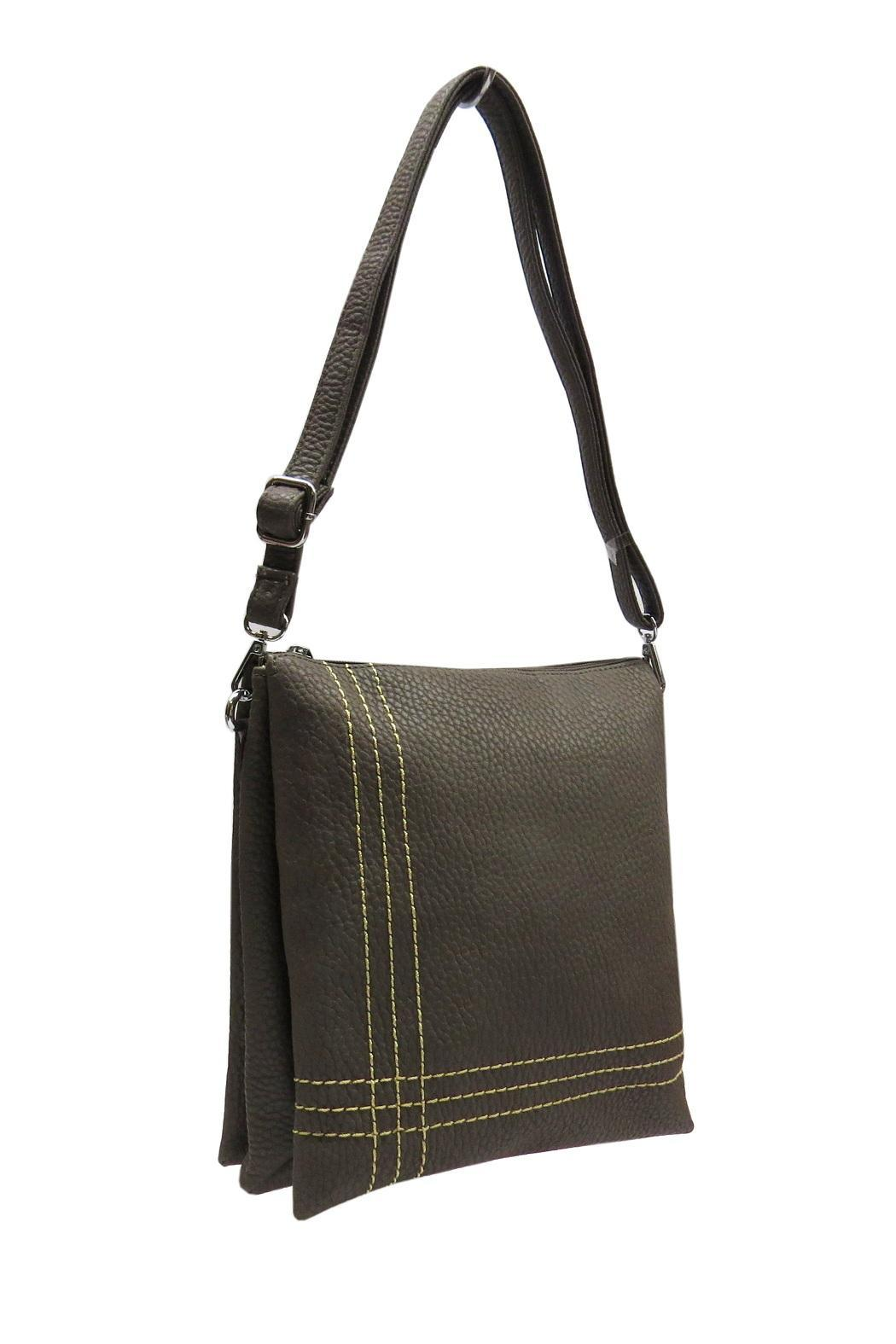 MP22 tote Three Pocket Purse - Main Image