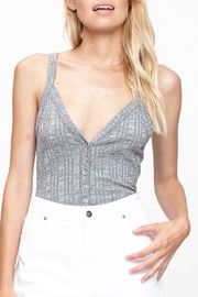 MPC Button Front Bodysuit - Front cropped
