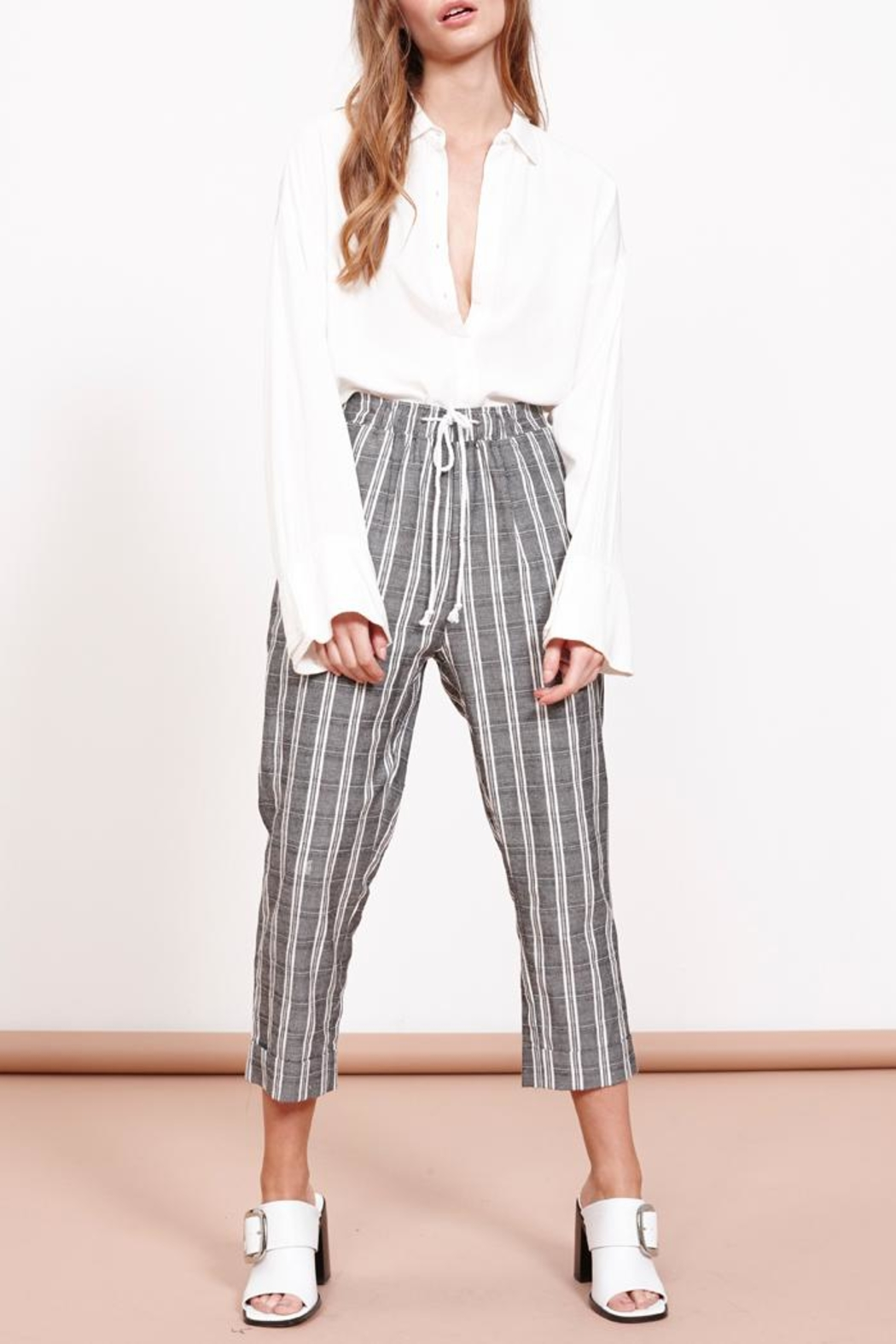 MPC Check Tapered Pant - Main Image