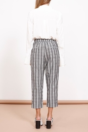 MPC Check Tapered Pant - Front full body