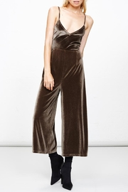 MPC Green Velvet Jumpsuit - Side cropped
