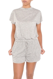 MPC Grey Shorts Romper - Product Mini Image