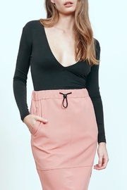 MPC Modal Deep V Top - Front cropped