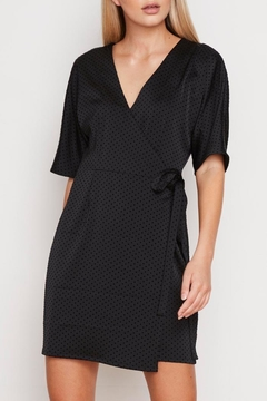 MPC Polka-Dot Wrap Dress - Product List Image