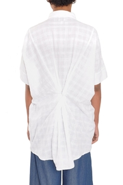MPC White Oversize Shirt - Side cropped