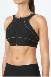 MPG Zip Sports Bra - Side cropped