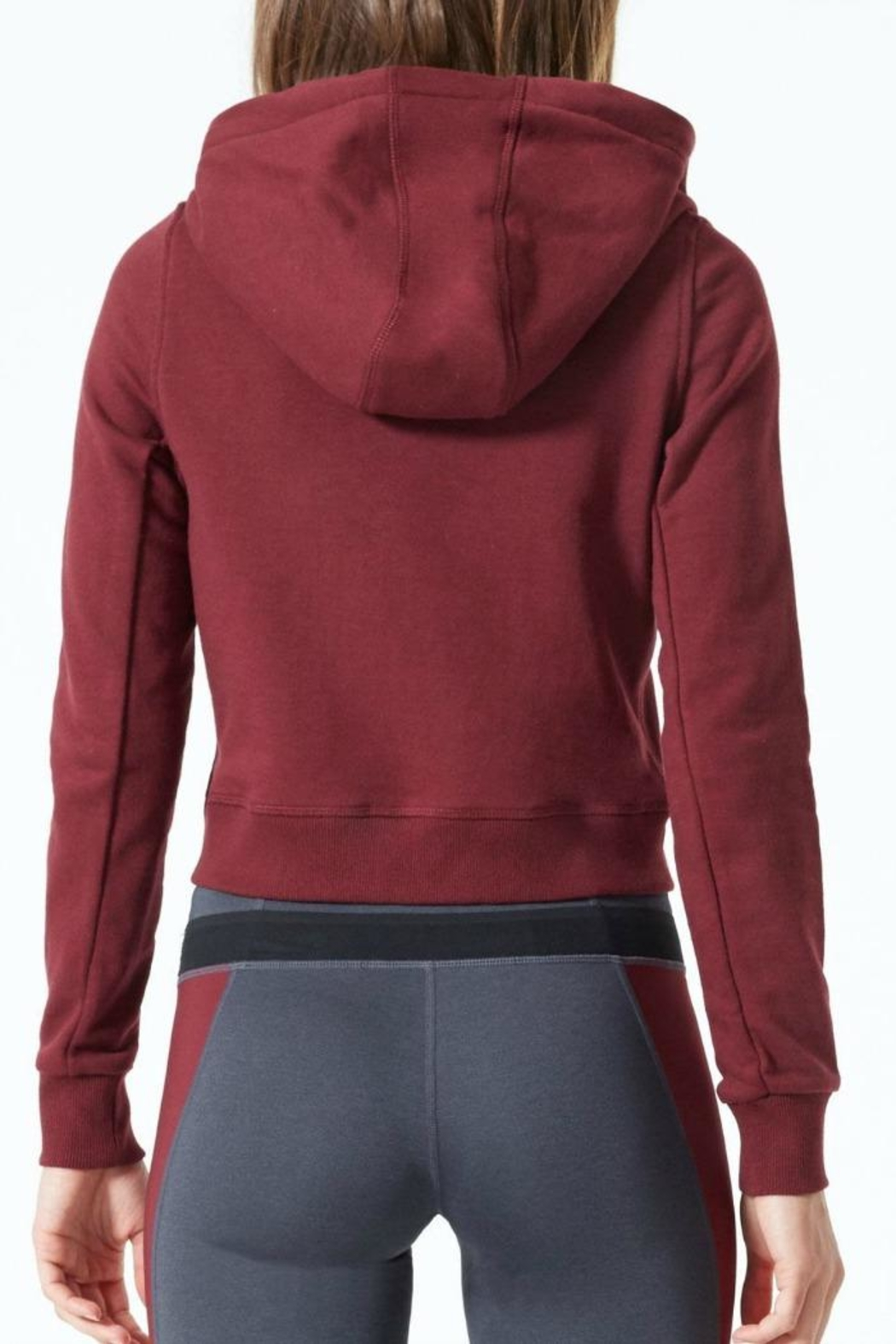 MPG Sport Banff Cropped Hoodie - Front Full Image